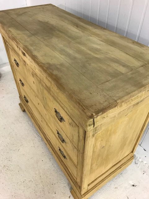 SOLD - Antique French Chest of Drawers - b31